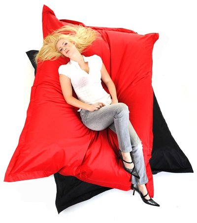 Pouf LOFTBAG Rouge