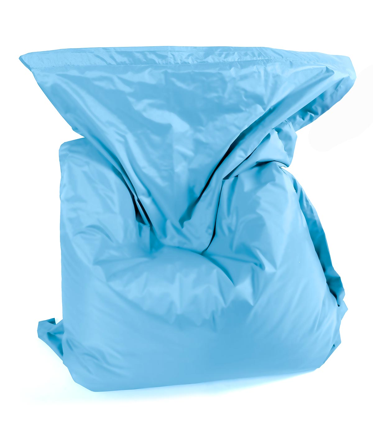 pouf loftbag bleu ciel. Black Bedroom Furniture Sets. Home Design Ideas