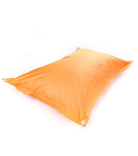 Housse Pouf Géant Extérieur Orange LOFTBAG OUTDOOR